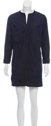 Vince Mini Long Sleeve ShirtDress