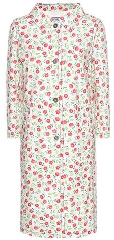 pradaPrada Printed Denim Coat