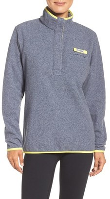 Women's Columbia Harborside Fleece Pullover $60 thestylecure.com