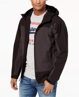 Superdry Men's Fleet Cagoule Zip-Front Hooded Jacket