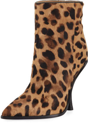 Sigerson Morrison Hong Leopard-Print Point-Toe Boot