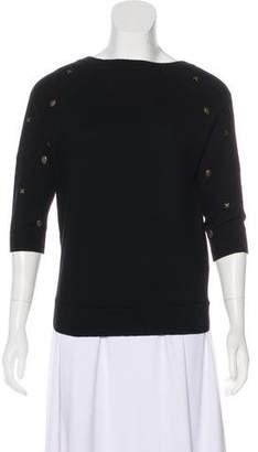 Autumn Cashmere Cashmere Short Sleeve Sweater