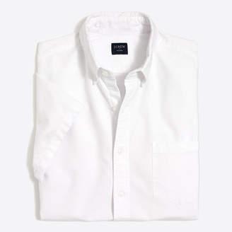 J.Crew Factory Slim-fit short-sleeve flex oxford shirt