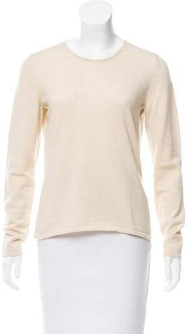 Oscar de la Renta Cashmere Long Sleeve Sweater