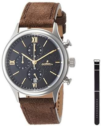 Orobianco (オーロビアンコ) - [オロビアンコ] 腕時計 TIME-ORA アヴィオナウティコ Amazon.jp特別価格 OR-0060-9 正規輸入品