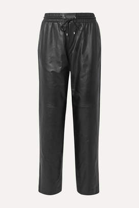 Kenzo Leather Track Pants - Black