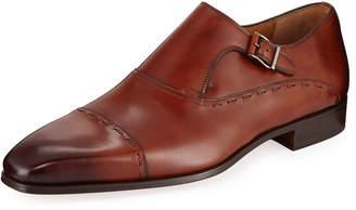 Magnanni Men's Hand Antiqued Leather Dress Shoe