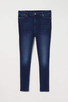 H&M H&M+ Skinny High Jeans - Blue