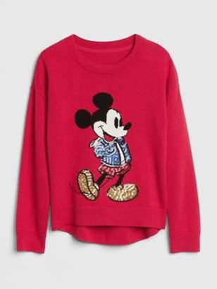 Gap GapKids | Disney Mickey Mouse Sequin Sweater
