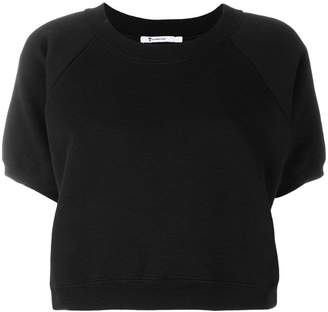 Alexander Wang cropped sweat top