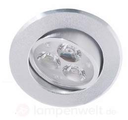 LED-Einbauleuchte JAKOB mit drei LEDs