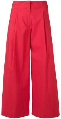 Etro wide crop trousers