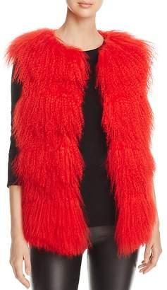 Maximilian Furs Lamb Shearling Vest - 100% Exclusive