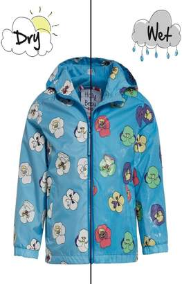 Holly & Beau Pansy Color-Changing Raincoat
