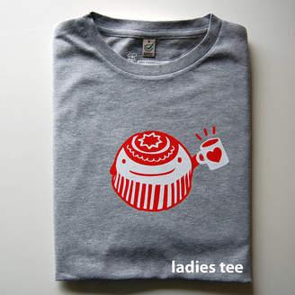 tee and toast Mr Teacake Adult T Shirt