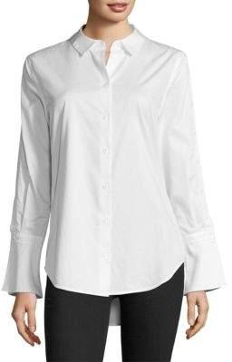 Equipment Rossi Long-Sleeve Cotton Shirt