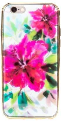 Trina Turk Translucent Apple Phone Case - Floral Blue - iPhone 6\u002F6S