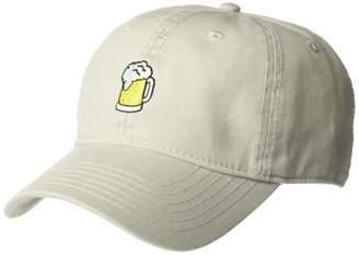 Concept One Men's Beer Mug Embroidered Adjustable Baseball Cap