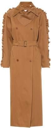 Max Mara Baccara cotton twill coat