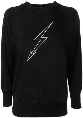 Givenchy Bolt Print Sweatshirt