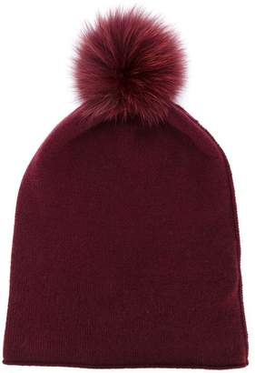 d6b93723133 Red Pom Pom Hat - ShopStyle