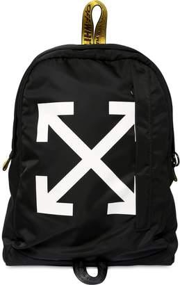 Off-White Off White Easy Tech Backpack W/ Logo Webbing