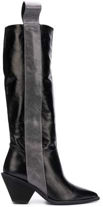 Paloma Barceló pointed knee high boots