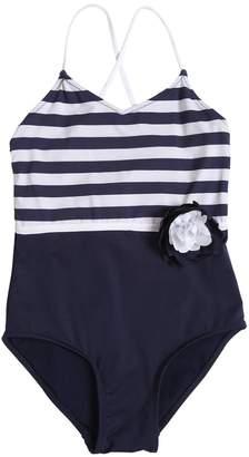 La Perla Striped Lycra One Piece Swimsuit