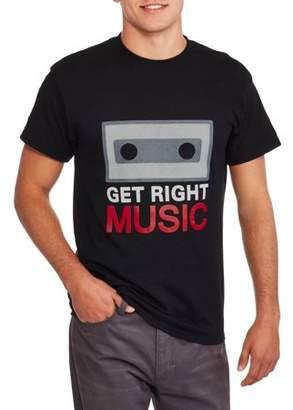 Get Right Music Big Men's Classic T-shirt