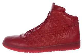 Nike Jordan Shine Leather Sneakers