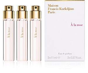 Francis Kurkdjian 3-Piece à la rose Eau de parfum Refill Set