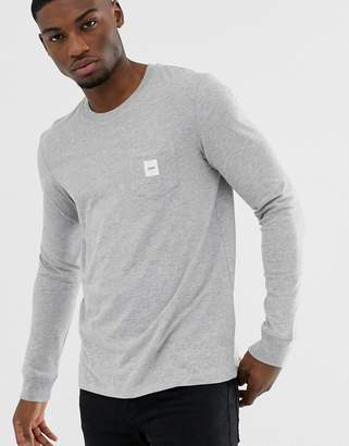 Esprit long sleeve t-shirt with branded pocket