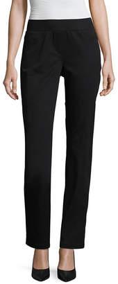 Liz Claiborne Pull On Comfort Stretch Pant - Tall