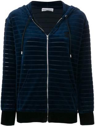 Sonia Rykiel zipped quilted hoodie