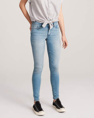 Abercrombie & Fitch Low Rise Super Skinny Jeans