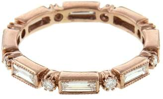 Couture Sethi Baguette Diamond Ring - Rose Gold