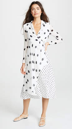 FARM Rio Onca Dots Dress