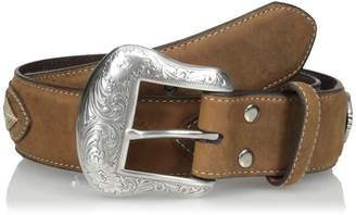 Nocona Men's Brown Overlay String Lace