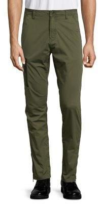 John Varvatos Slim-Fit Zip-Pocket Pants