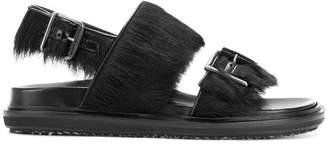Marni slingback round toe comfort sandals