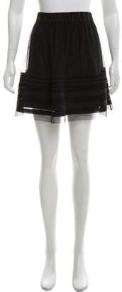 Theory Tulle Mini Skirt