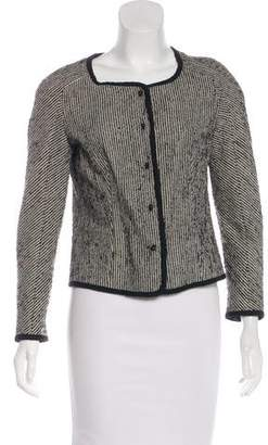Rochas Striped Knit Jacket