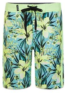 Hurley Boys' Tropical Garden Print Board Shorts - Little Kid