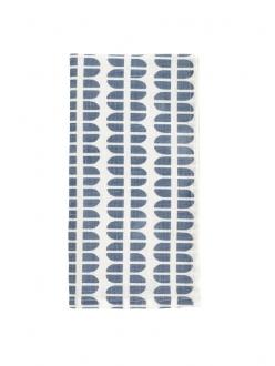 DwellStudio Table Woodblock Lake Napkin - Set Of 4
