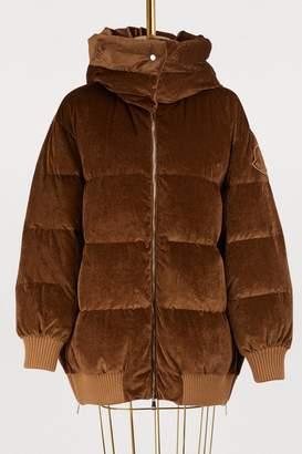 Moncler Verdier velvet jacket