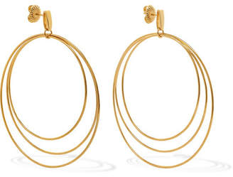 Natasha Schweitzer - Christy 14-karat Gold-plated Earrings