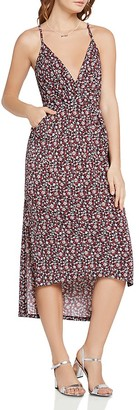 BCBGeneration Floral-Print High/Low Dress $88 thestylecure.com