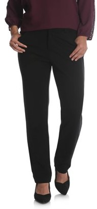 Lee Riders Women's Ponte Knit Comfort Waist Pant
