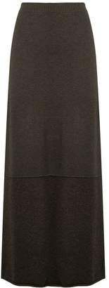 Ports 1961 fitted knit skirt