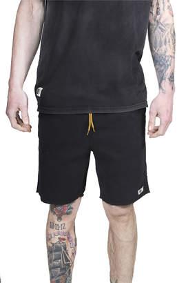 LIRA Black Weekday Jogger Shorts